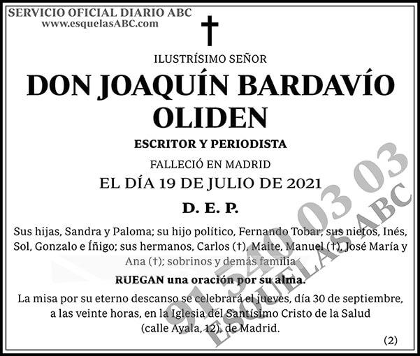 Joaquín Bardavío Oliden