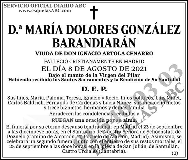 María Dolores González Barandiarán