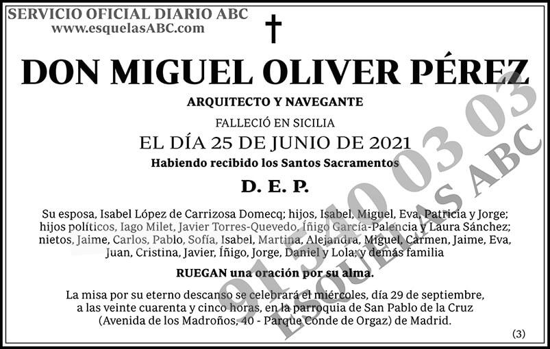 Miguel Oliver Pérez