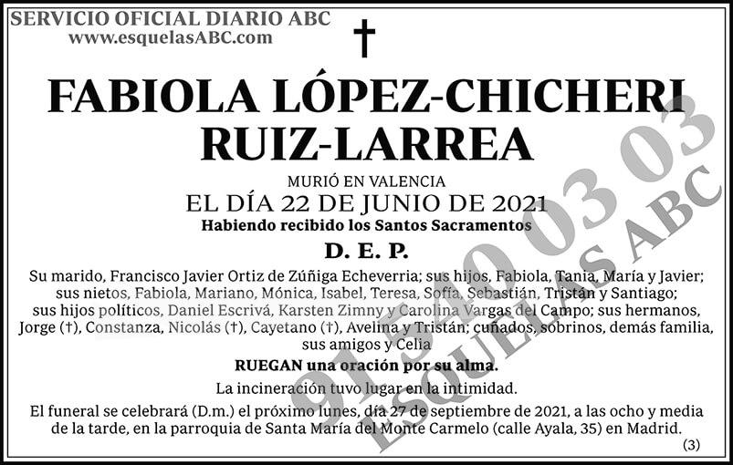 Fabiola López-Chicheri Ruiz-Larrea