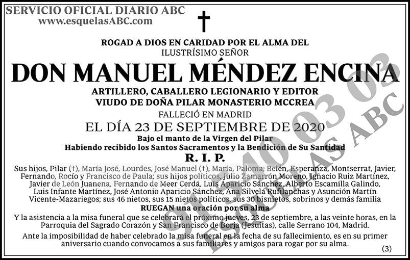 Manuel Méndez Encina