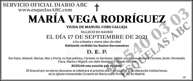 María Vega Rodríguez