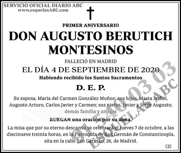 Augusto Berutich Montesinos