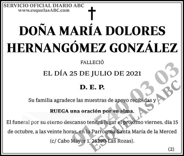 María Dolores Hernangómez González