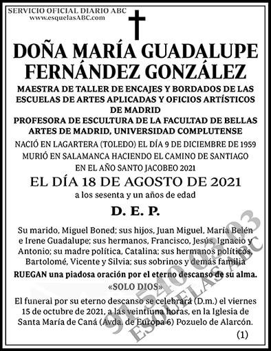 María Guadalupe Fernández González