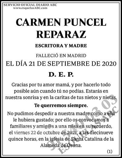 Carmen Puncel Reparaz