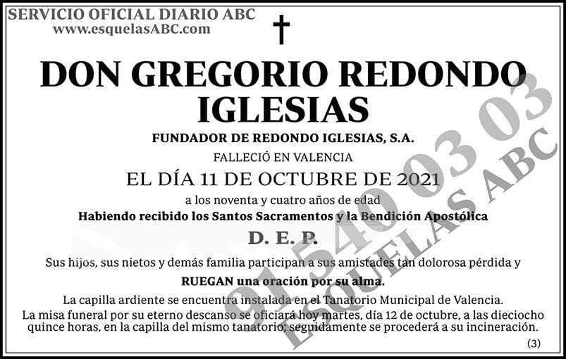 Gregorio Redondo Iglesias